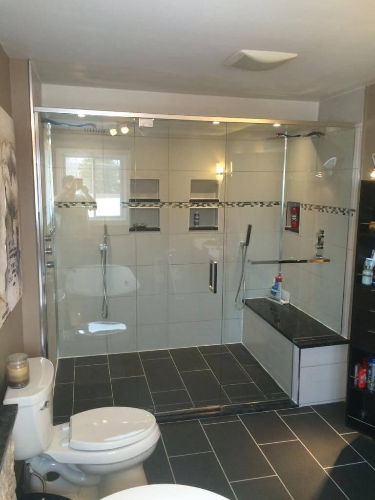 shower custom doors glass enclosures